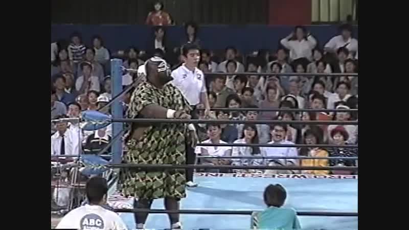 1994.05.31 - Giant Kimala II vs. Satoru Asako [JIP]