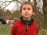 Севастопольские школьники на горе Гасфорта
