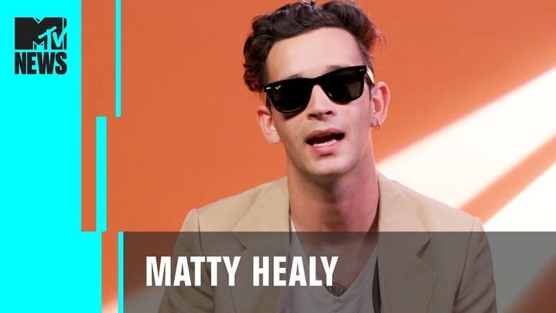 The 1975's Matty Healy on Songwriting Finding Truth in Art MTV News