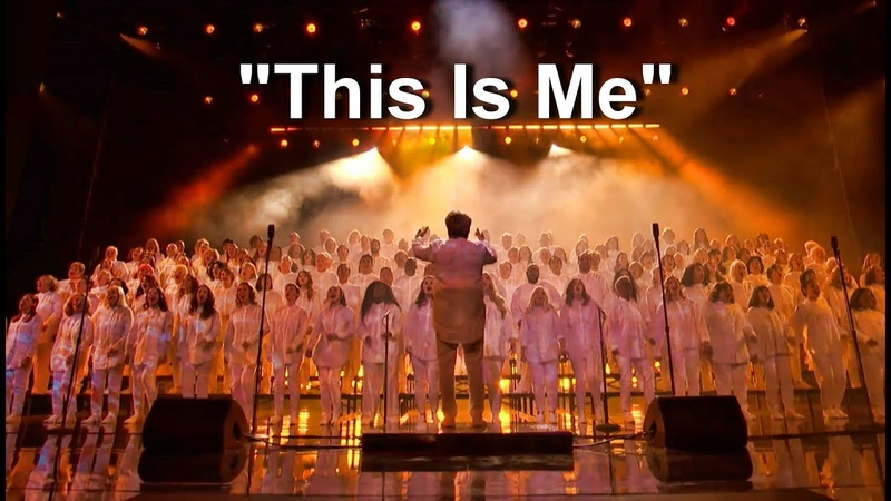 Angel City Chorale Amazing Choir Sings This Is Me - Americas Got Talent 2018
