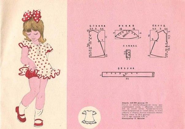 Сшить платье на 1 годик своими руками