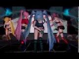 【MMD】 Fake Doll [Neru, Luka, Miku and Teto]