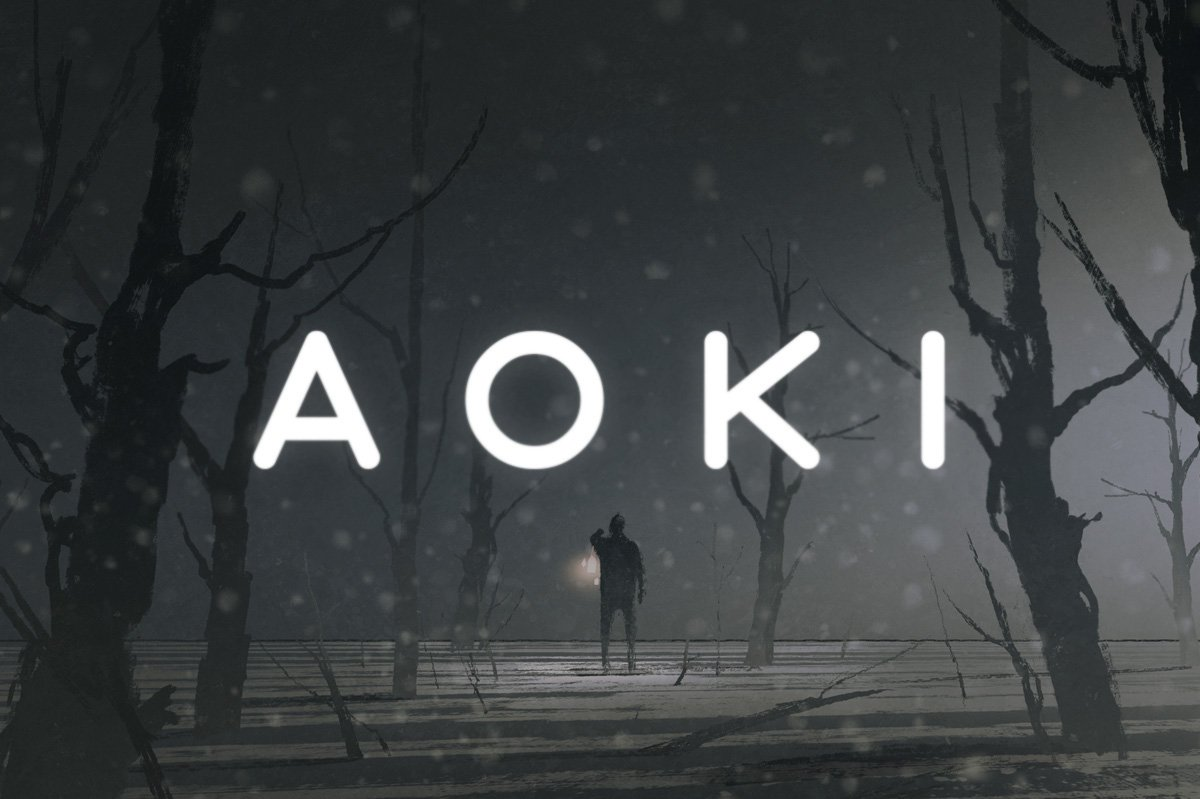 Шрифт - Aoki