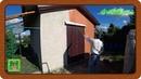 Строим современный курятник ч 34 Покраска стен