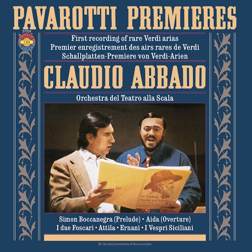 Luciano Pavarotti альбом Pavarotti Sings Rare Verdi Arias (Remastered)