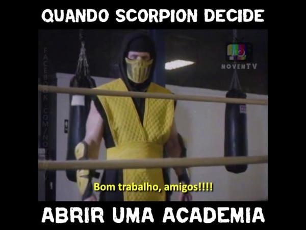 Quando Scorpion decide abrir uma academia!