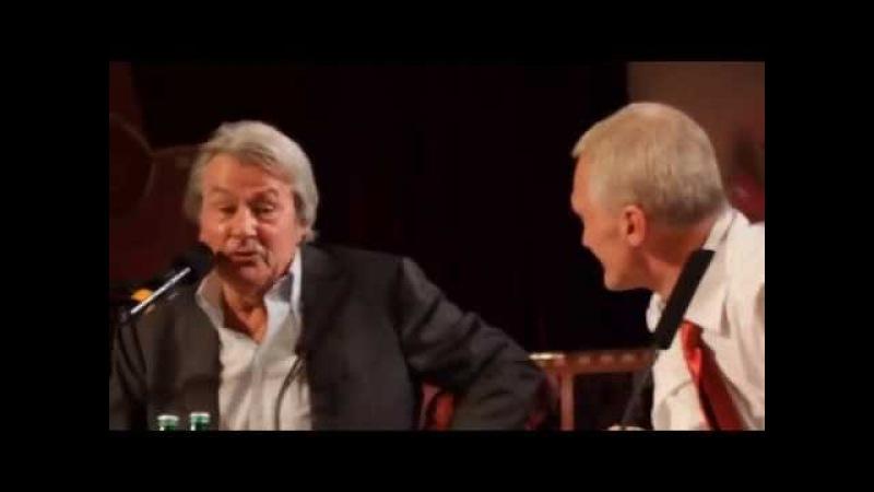 Ален Делон в Харькове о Роми Шнайдер / Alain Delon in Kharkiv