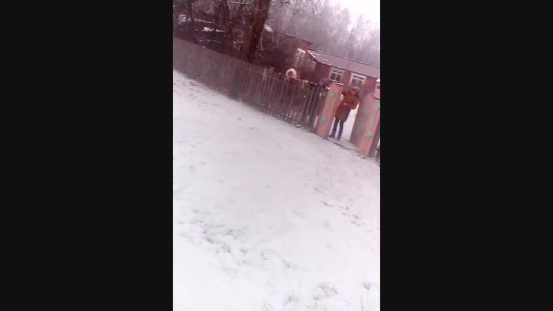 можно и в снежки поигратьдети⛄❄🙌школа