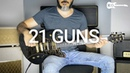 Green Day - 21 Guns - Electric Guitar Cover by Kfir Ochaion
