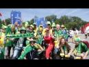 Бразильские фанаты Малиновской банды