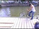Martti Kuoppa riding on water