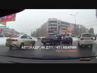 как проезжать кольцо в в Курске , видеоурок от Автоледи