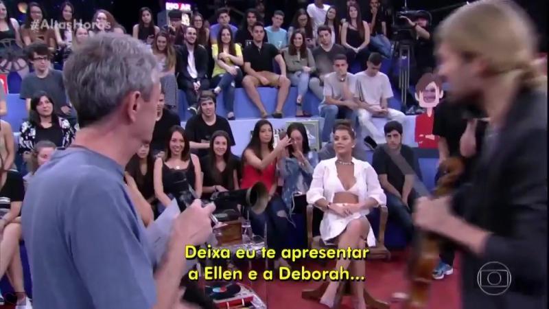 David Garrett - Guest @ Altas Horas Brasilian TV - 16.12.17
