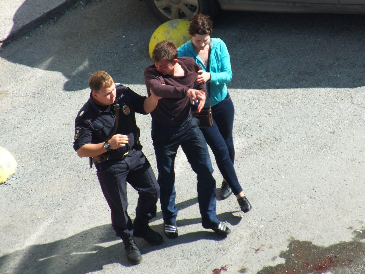 В пьяную разборку пришлось вмешаться полиции 3