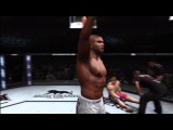 UFC Undisputed 3 *Remake* - Alistair Overeem vs Brock Lesnar (UFC 141 - Kick to the Body)