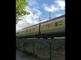 ICE скоростной поезд в Германии