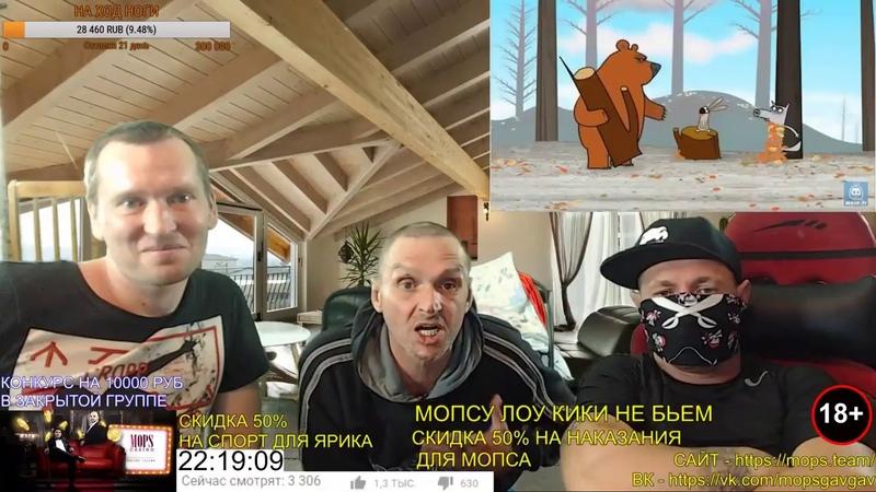 МОПС СМОТРИТ СМЕШНОЙ МУЛЬТИК