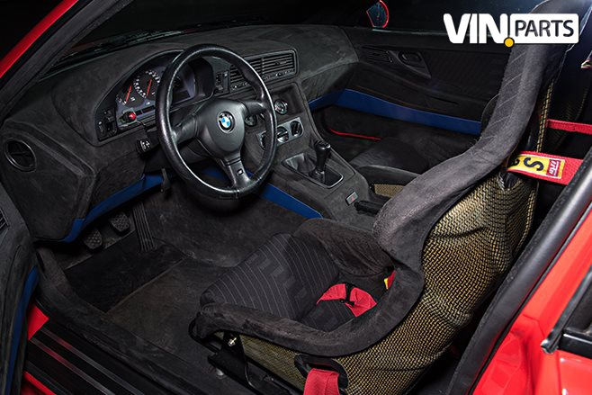 BMW M8 e31 prototype interior