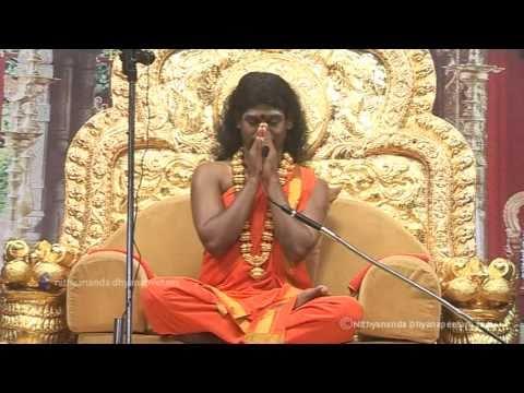 EN-Kriya Introduction (Part 1) Kundalini Awakening Process Initiation by Nithyananda (29 Jan 2011)