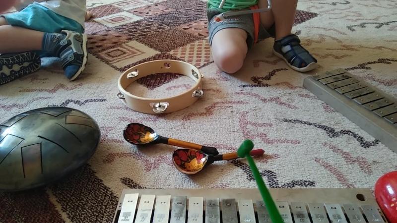 Цапли и лягушки с Терапевтической музыки в Мамином садике (г.Тольятти)