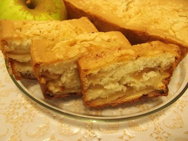 Шарлотка рецепт з яблуками
