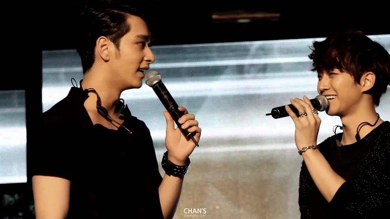[찬성준호] 2PM IS BACK with Genie! 강남역 M-Stage