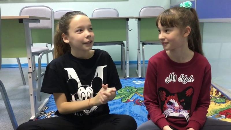 Видео-отзыв студенток JandS | Школьные предметы на английском