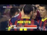 Барселона -  Хетафе 4 - 0 ОБЗОР МАТЧА 09.01.2014