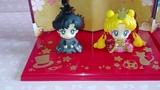 Sailor Moon Petit Chara Hinamatsuri Set Haruka &amp Michiru + Usagi &amp Mamoru Unboxing &amp Review