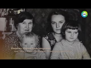 Пуховой платок блокадниц Марии Ивановой и Анны Кутановой