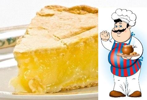 Нежный лимонный пирог Ингредиенты: Сметана 250 г Сливочное масло 110 г Сода 0,5 ч. л. Мука 2 стак. Лимон или апельсин 1,5 шт. Сахар 1 стак. Яичный желток 1 шт. Сахарная пудра по вкусу