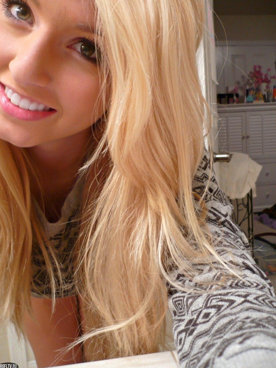 Фото блондинок в домашних условиях на аву с лицом