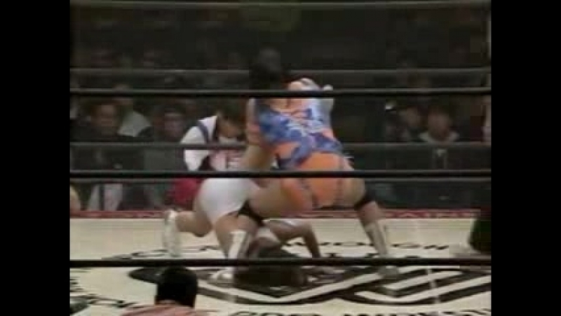 4. Reggie Bennett, Rie Tamada vs. Suzuka Minami, Tomoko Watanabe (12.4.1994)