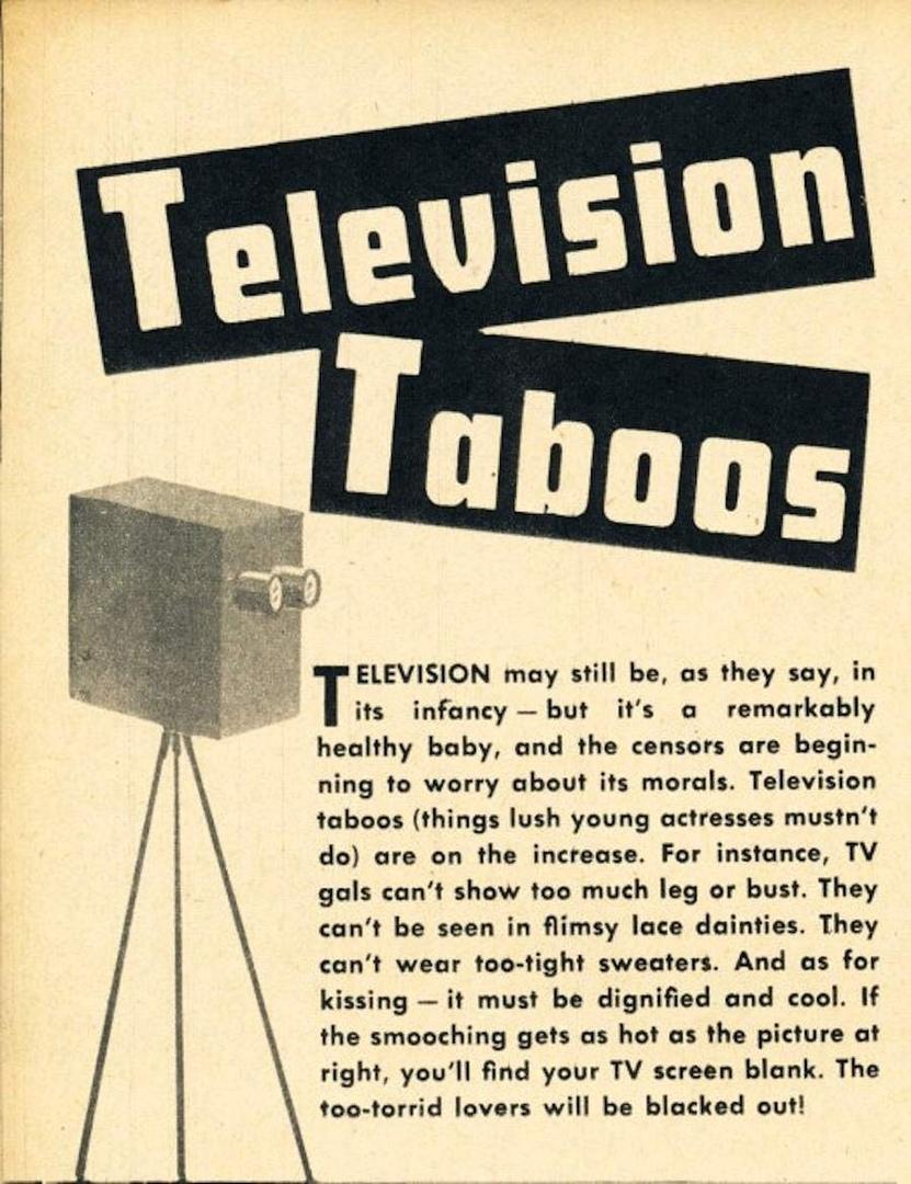 Телевизионные запреты в 1949 году