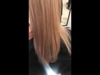 Мелирование волос и тонирование