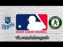 Kansas City Royals vs Oakland Athletics | 08.06.2018 | AL | MLB 2018 (2/4)