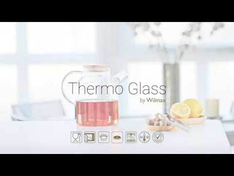 Wilmax Product: Thermo Glass TeaPot
