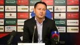Дмитрий Аленичев: Было 3-4 стопроцентных момента, но не смогли их реализовать