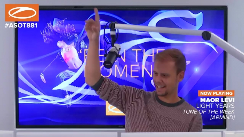 Maor Levi - Light Years ASOT881 (TUNE OF THE WEEK)