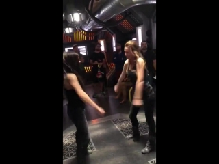 New world New moves  Well maybe not so new but fun #the100 #The100Season6 @iamAvgeropoulos @harmon_jess.mp4