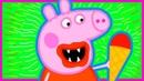 Свинка и Синий трактор везет киндеры Герои в масках Киндер сюрприз Развивающие мультики про машинки