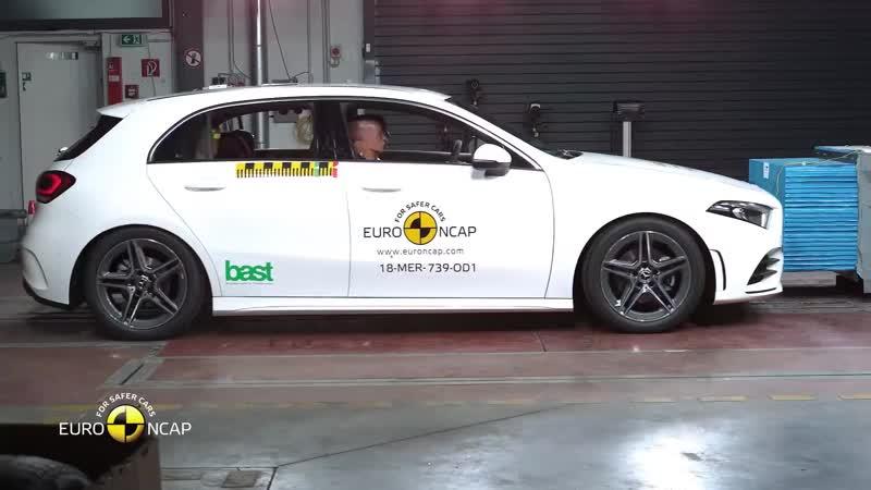 Краш тест Euro NCAP Mercedes Benz A Class