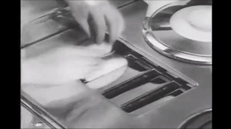 Так видели кухню будущего в 1960 х годах
