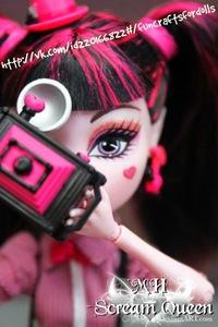 видео про поделки куклы монстр хай эбби