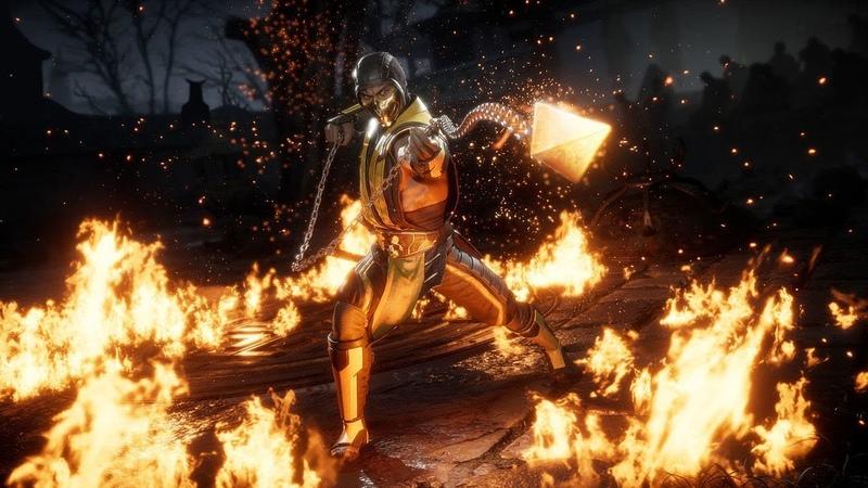 Mortal Kombat 11 Кэсси Кейдж Трейлер