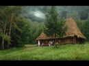 Жизнь в дикой природе один человек построил дом