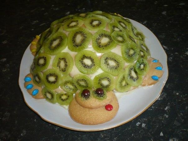 Торт изумрудная черепаха на сковороде 15 мин