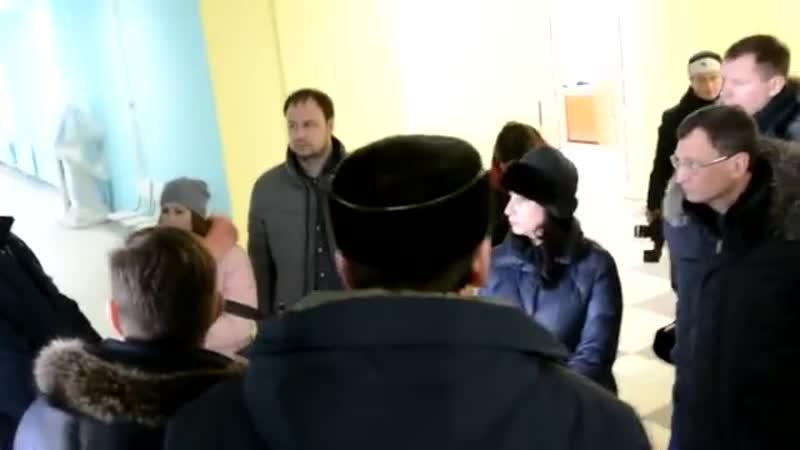 Фургал распекает подчинённых за срыв сдачи инженерной школы Комсомольска-на-Амур