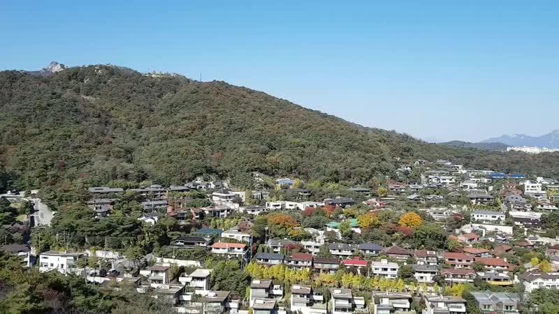 Сеул Идём в гору