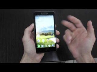 Обзор смартфон Lenovo P780 | 05ru